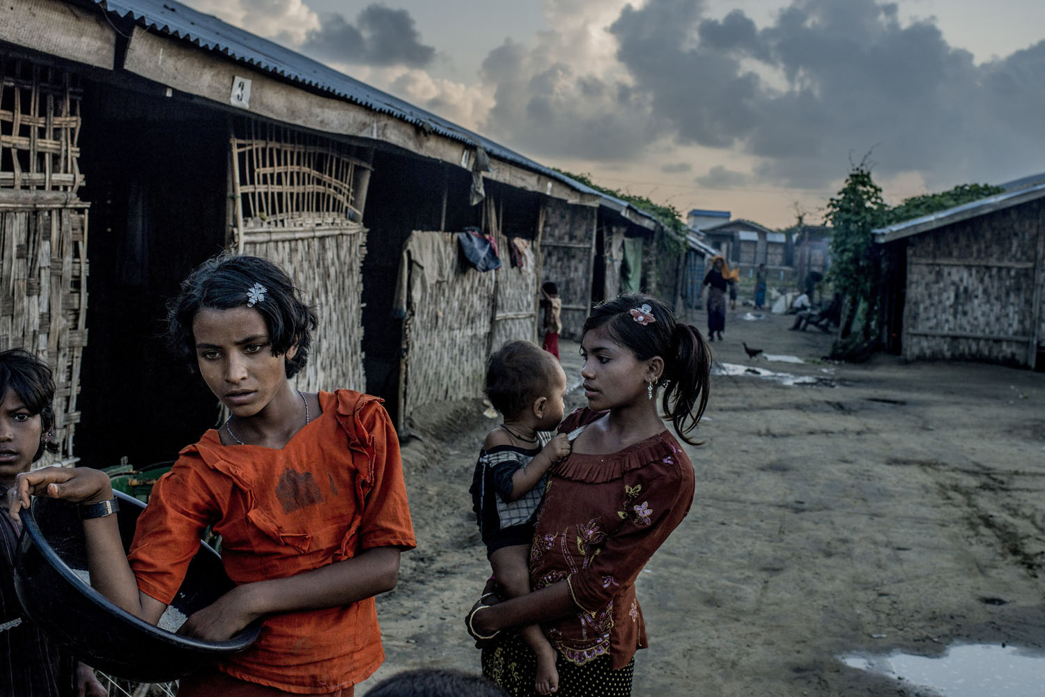 From the series: Bleak Existence for Myanmar's Rohingya MinorityA camp full of Rohingya refugees on the edge of Sittwe, Myanmar, Oct. 18, 2014.