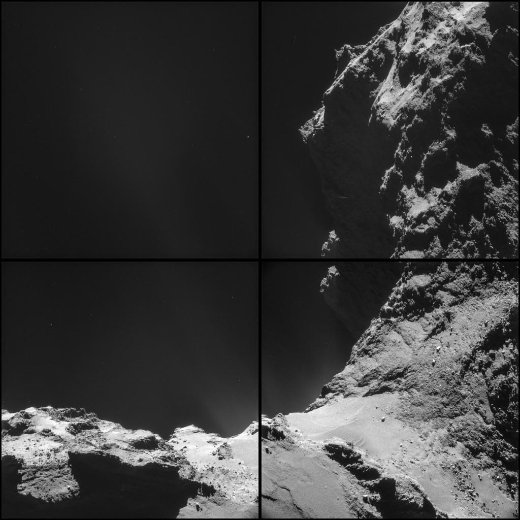 Comet 67P on Oct. 18, 2014