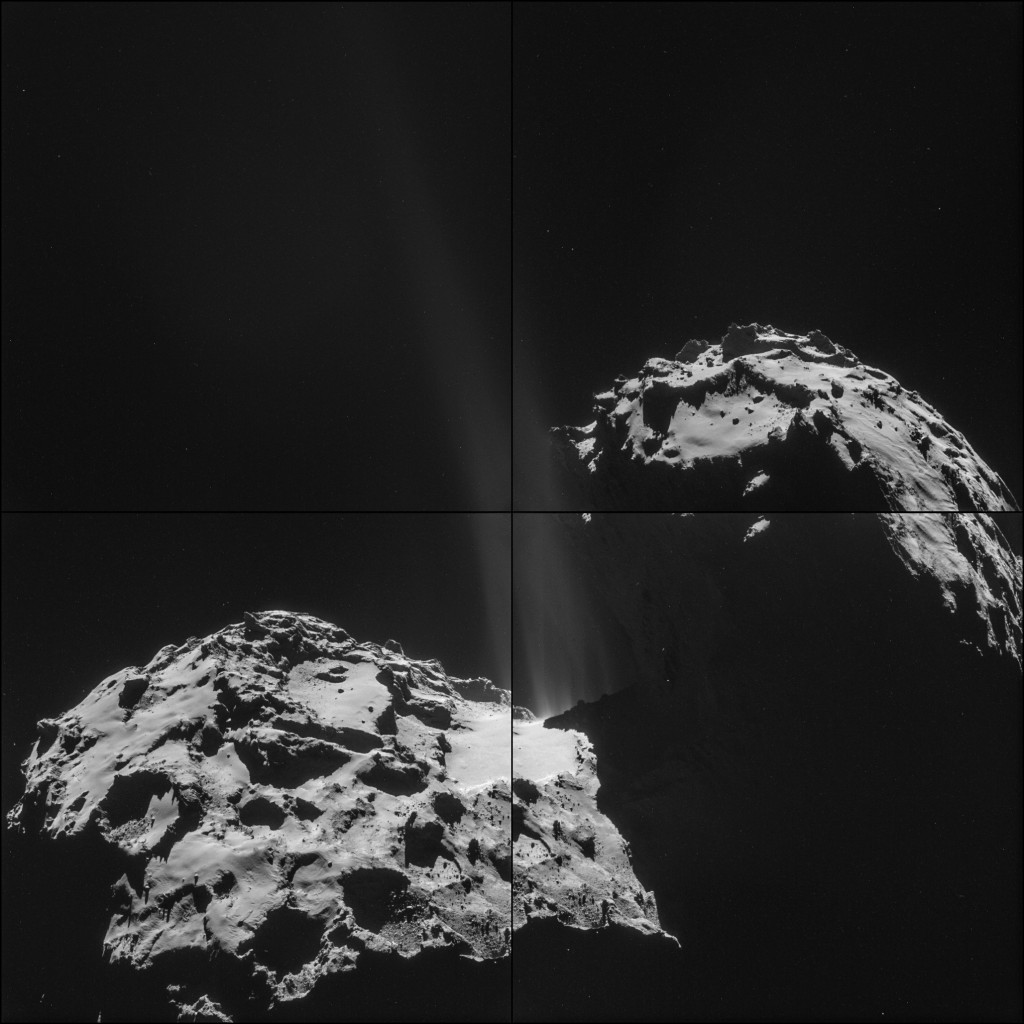 Comet 67P on Sept. 26, 2014.