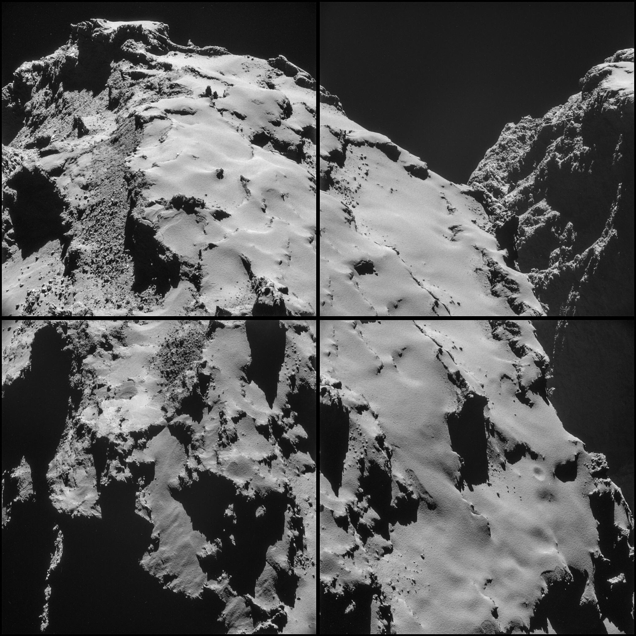 Comet 67P on Oct. 28, 2014.