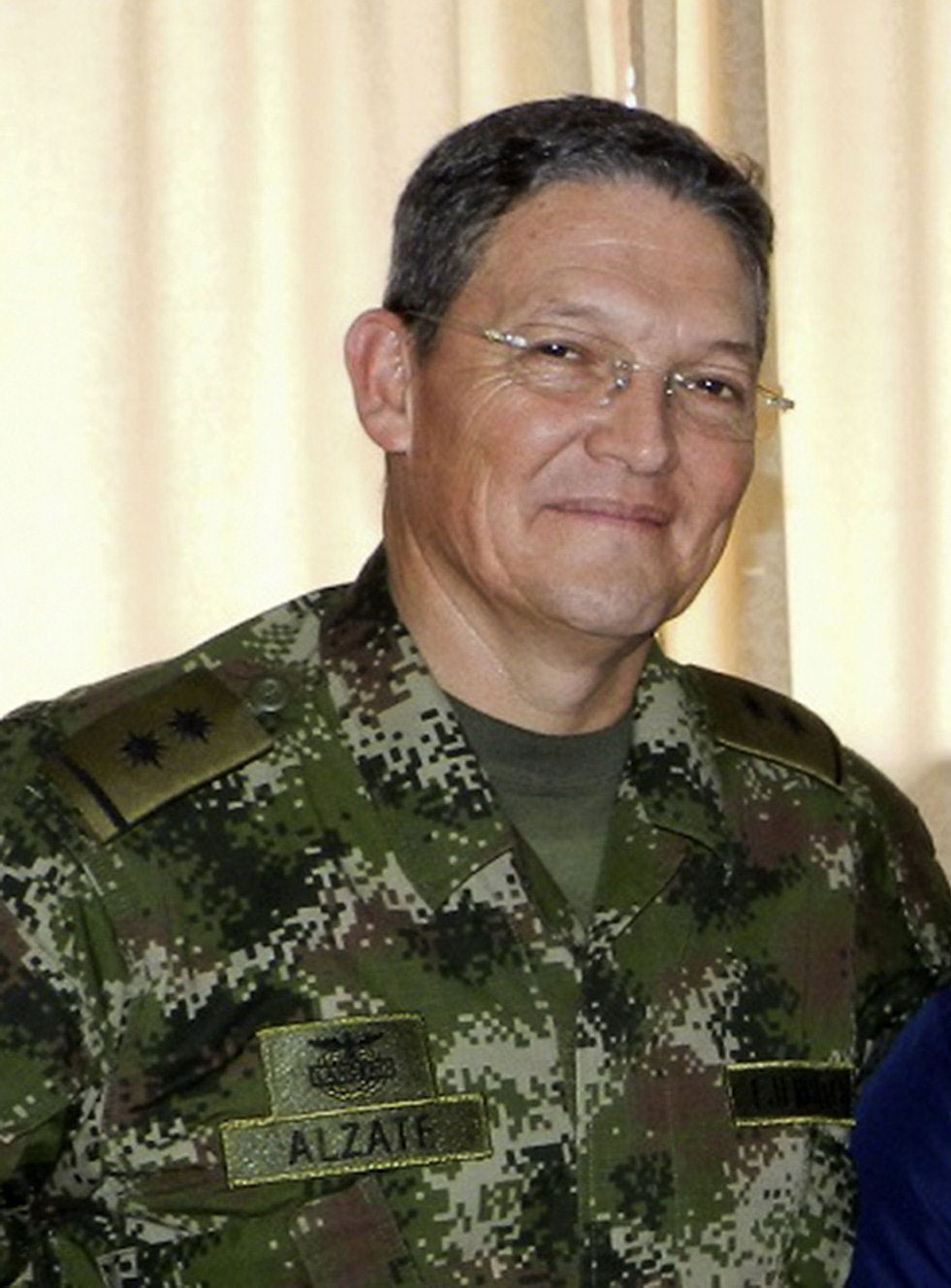 Colombian Army General Rubén Darío Alzate