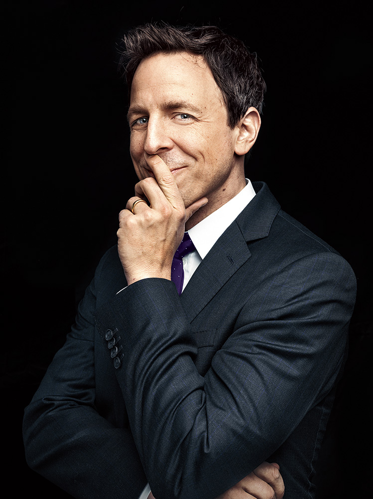 Seth Meyers. From  We'll Do it Late.  January 13, 2014 issue.