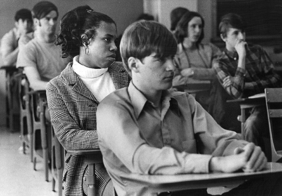 A Denver Public School sex education class in 1971