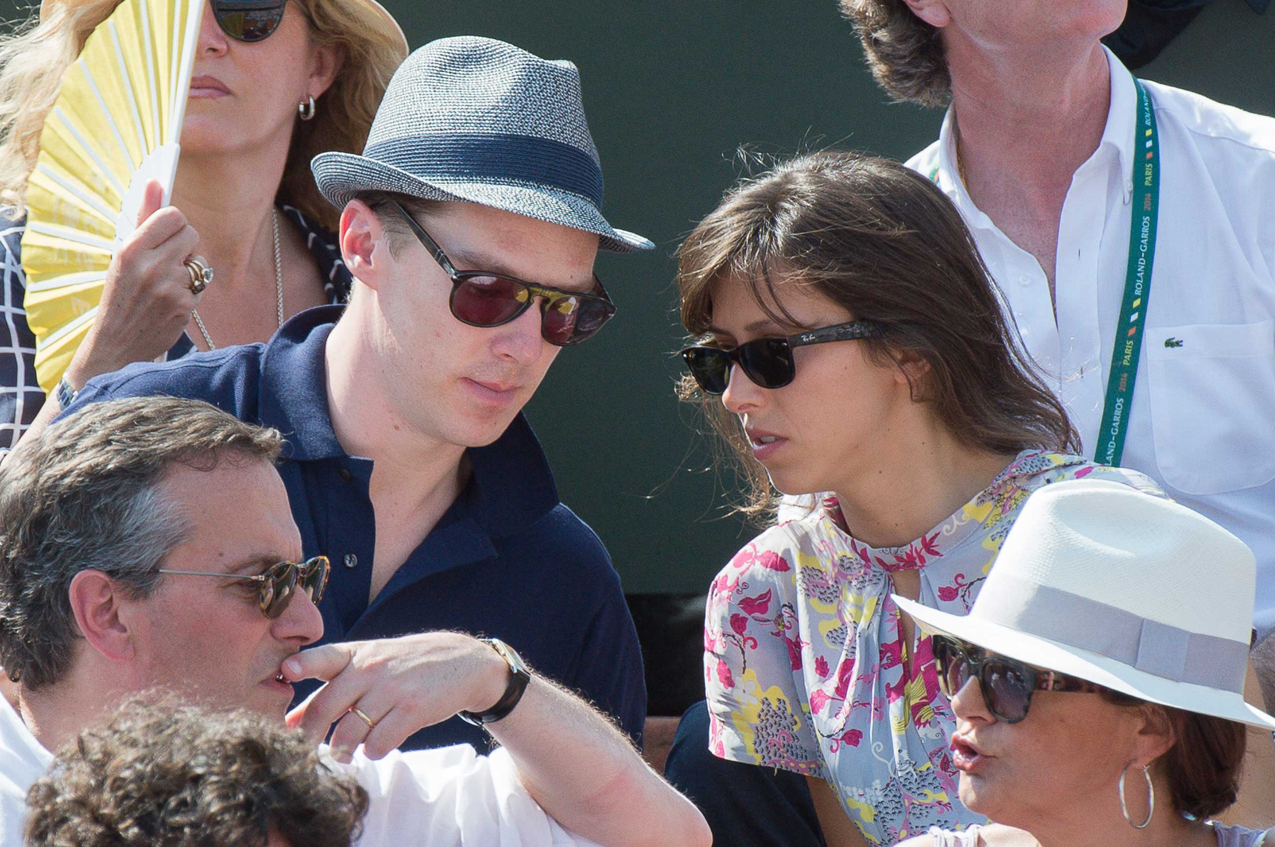The very private couple was recently spotted together at the French Open on June 8, 2014 in Paris, France.