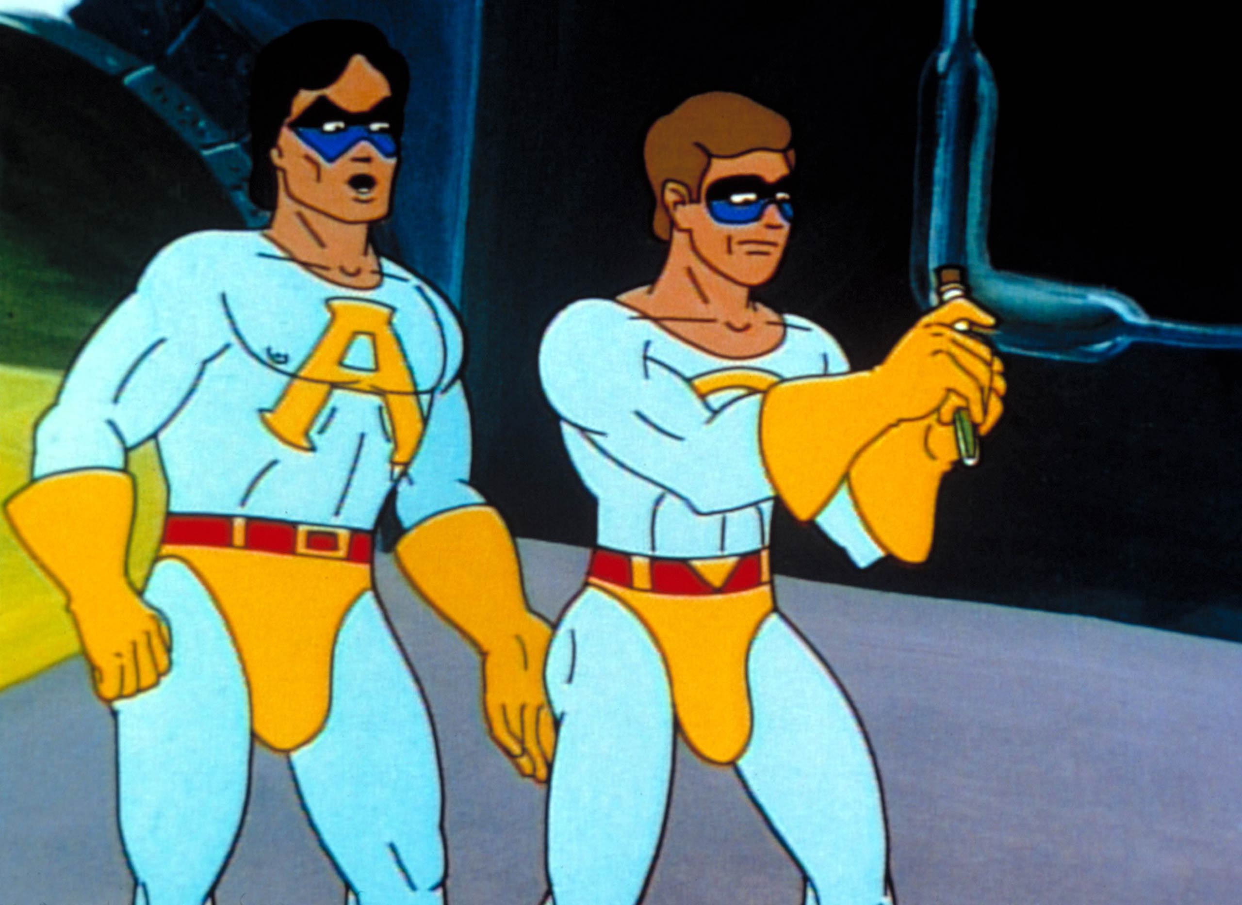 <strong><i>Saturday Night Live</i> - Ace, The Ambiguously Gay Duo</strong> (pictured left)