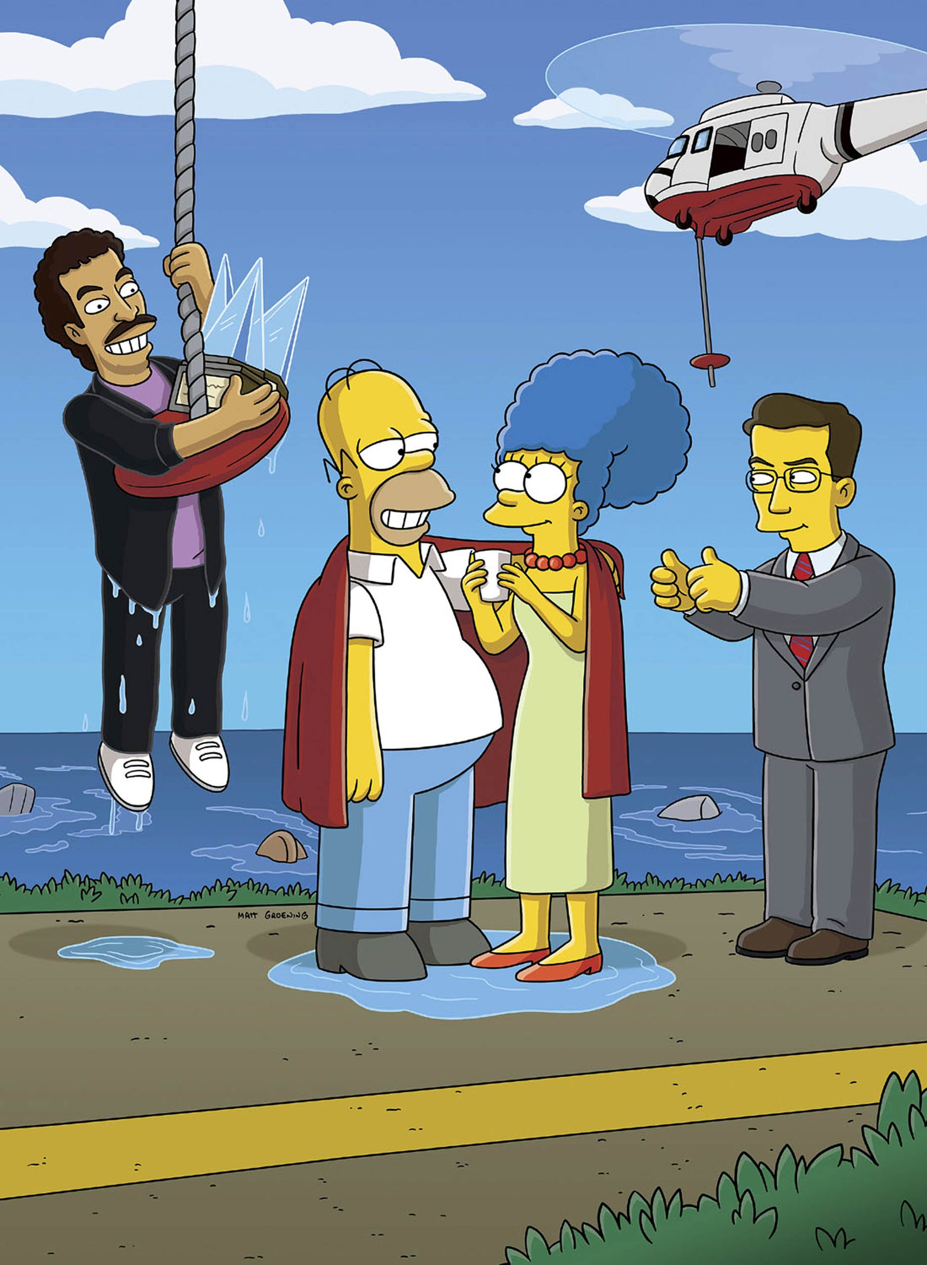 <strong><i>Simpsons</i> - Colby Krause</strong> (pictured right)