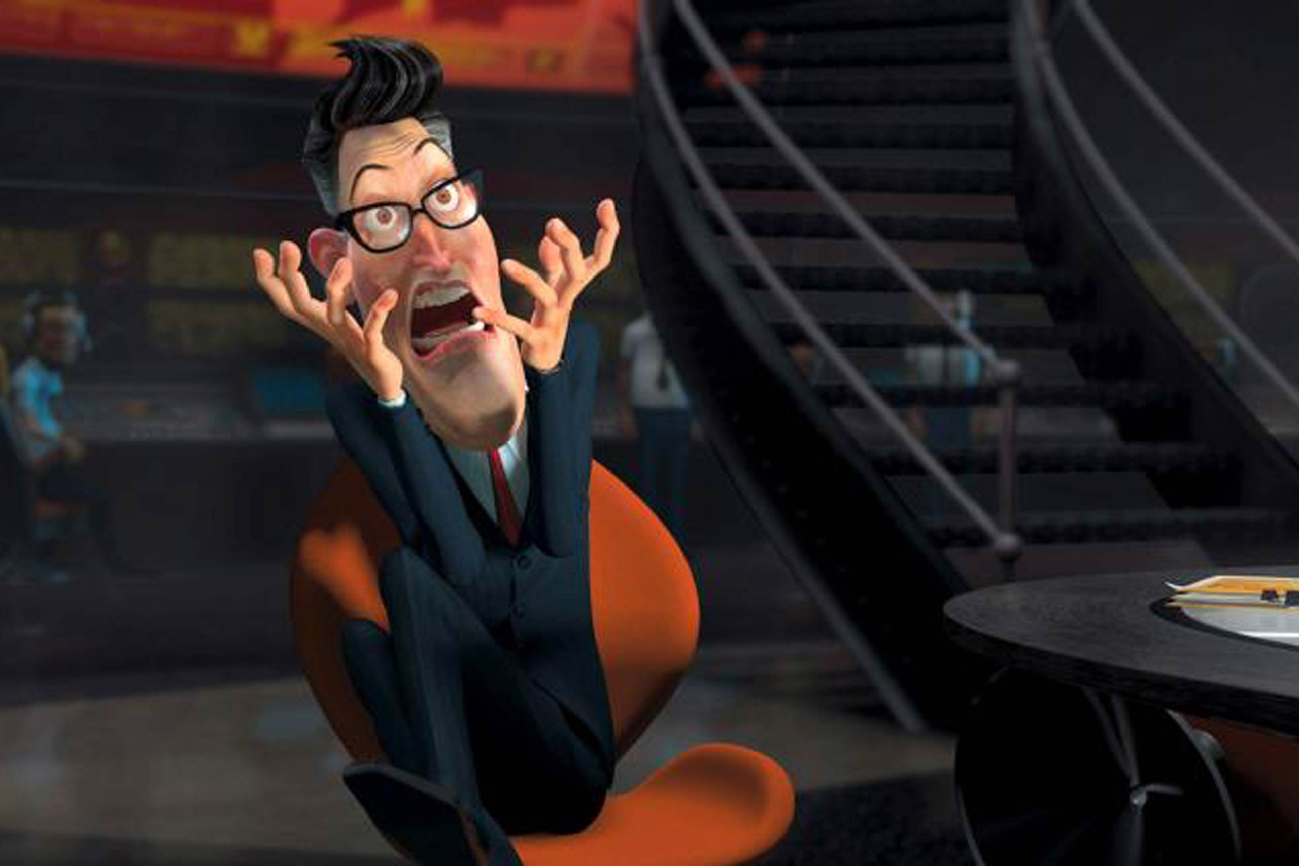 <strong><i>Monsters vs Aliens</i> - President Hathaway</strong>
