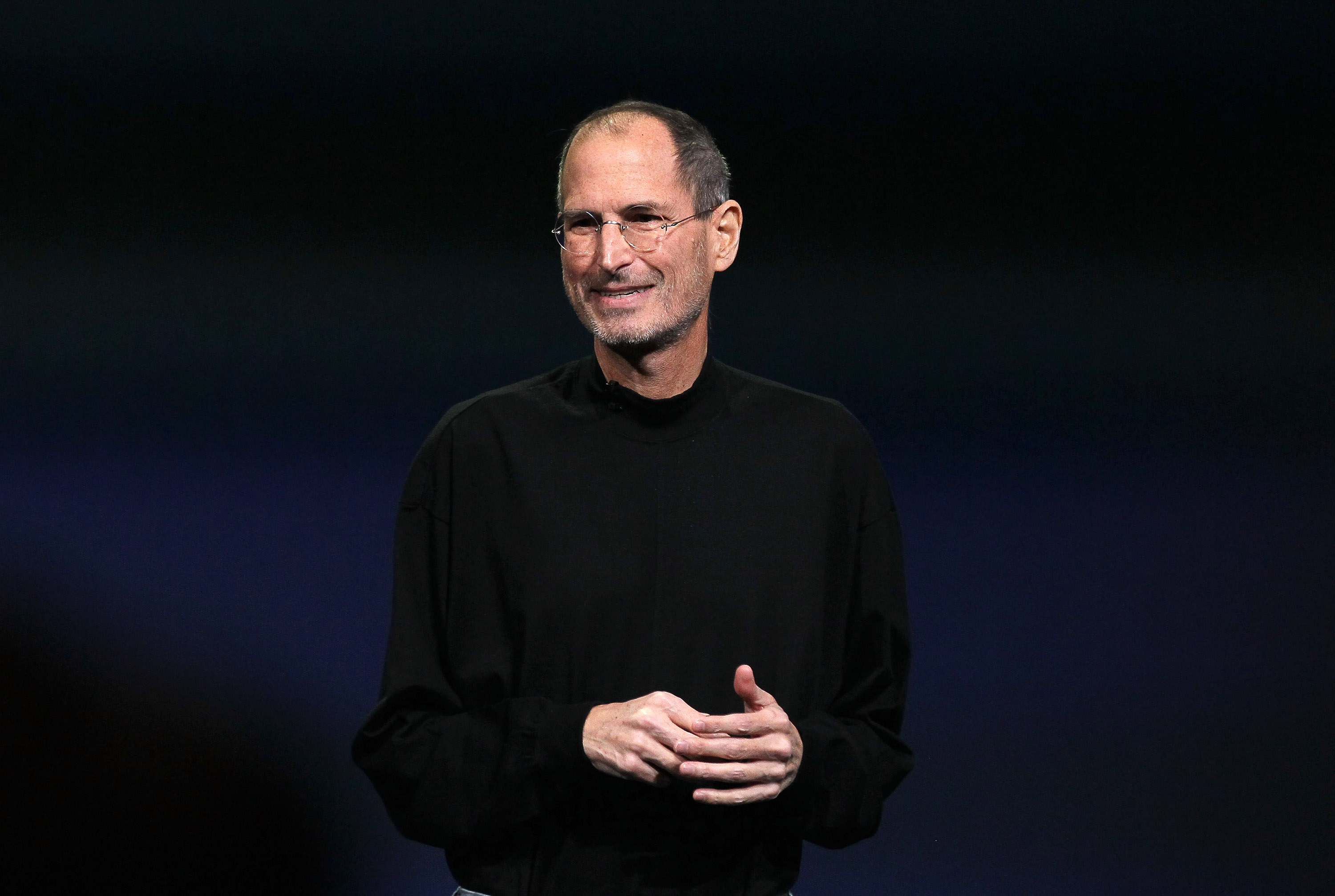 Apple CEO Steve Jobs speaks during an Apple Special event to unveil the new iPad 2 at the Yerba Buena Center for the Arts on March 2, 2011 in San Francisco.