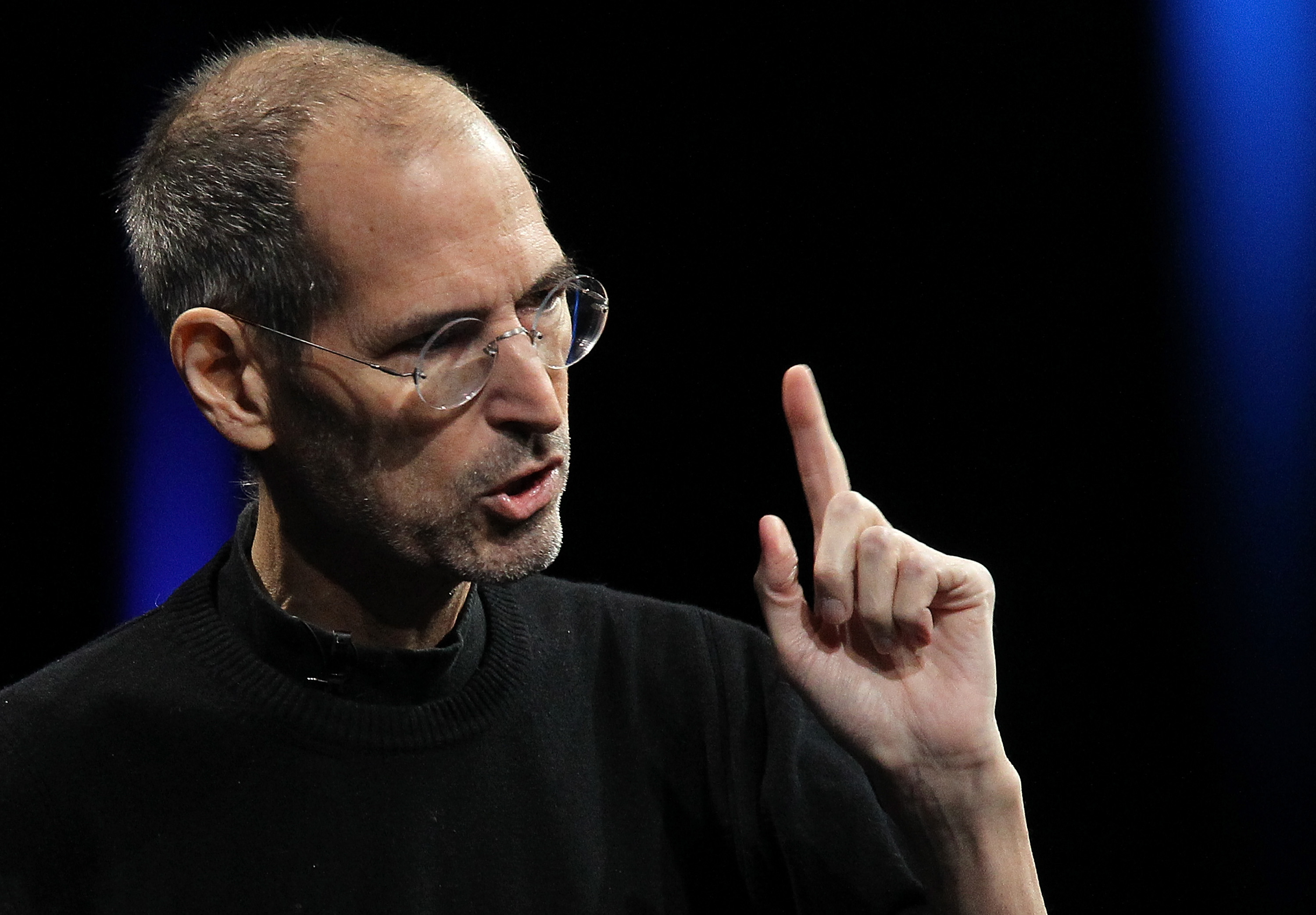 Apple CEO Steve Jobs delivers the keynote address at a conference  on June 6, 2011 in San Francisco, California.