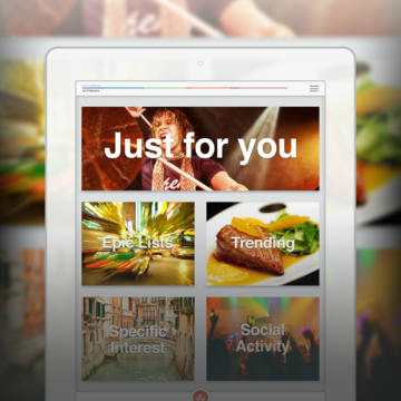 <strong> StumbleUpon.</strong> StumbleUpon has long perfected the art of serving up random items of interest on the web to users who just want something to do. Choose an interest, hit the big Stumble button and give a thumbs-up or thumbs-down to whatever is presented to you. Repeat.