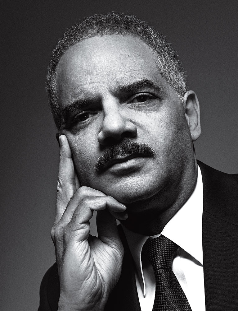 Eric Holder. From TIME's  100 Most Influential People in the World.  May 5 / May 12, 2014 issue.