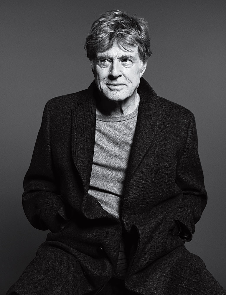 Robert Redford. From TIME's  100 Most Influential People in the World.  May 5 / May 12, 2014 issue.