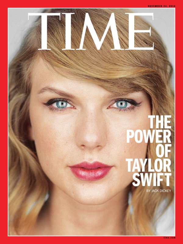 Taylor Swift TIME Cover: Spotify, Role Models and The Knicks