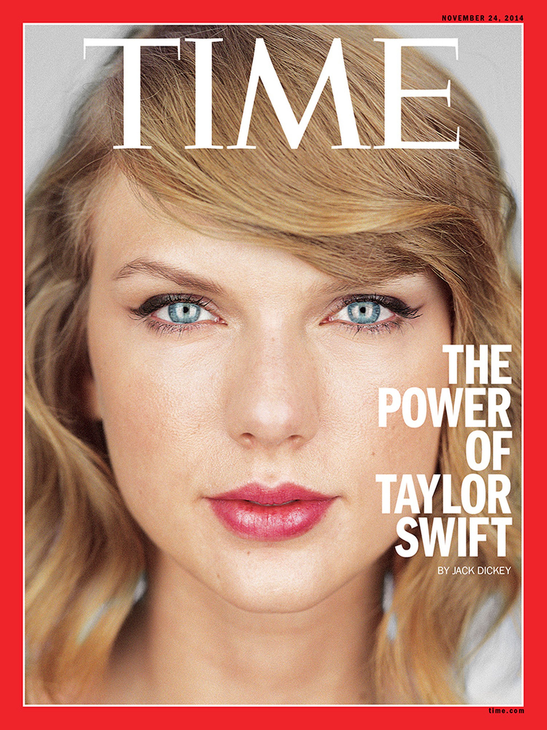 The Nov. 24, 2014 cover of TIME.
