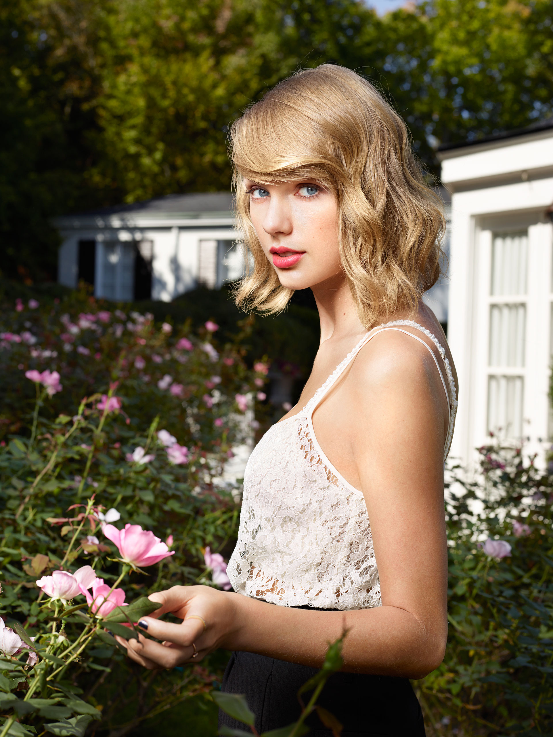 Taylor Swift photographed at her parents home in Forest Hills, Tennessee on September 29, 2014.