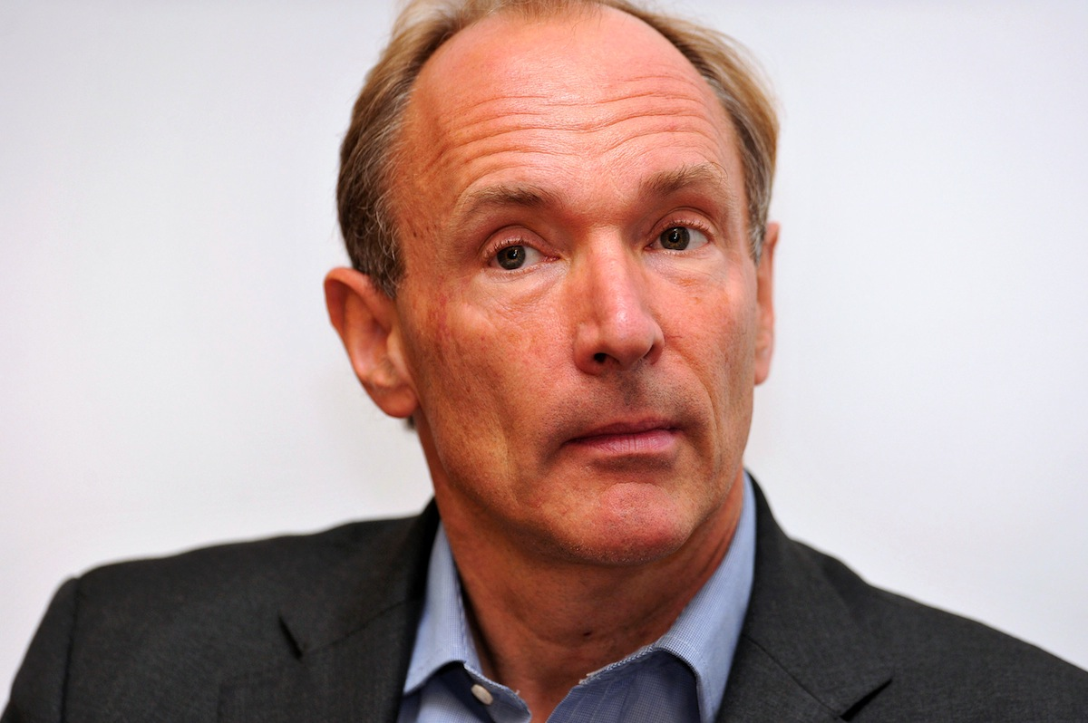 Tim Berners-Lee at The Royal Society in London on Sept. 28, 2010