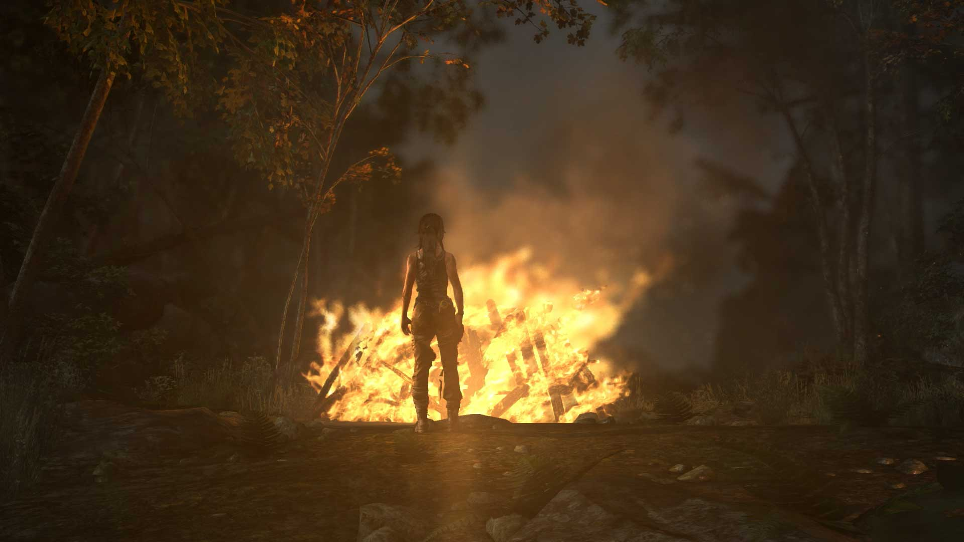 <strong>Tomb Raider</strong>                                                                          Crystal Dynamics' radical reboot of its popular series about an athletic archaeologist uses a modified version of the engine that powered <i>Tomb Raider: Legend</i> in 2006.