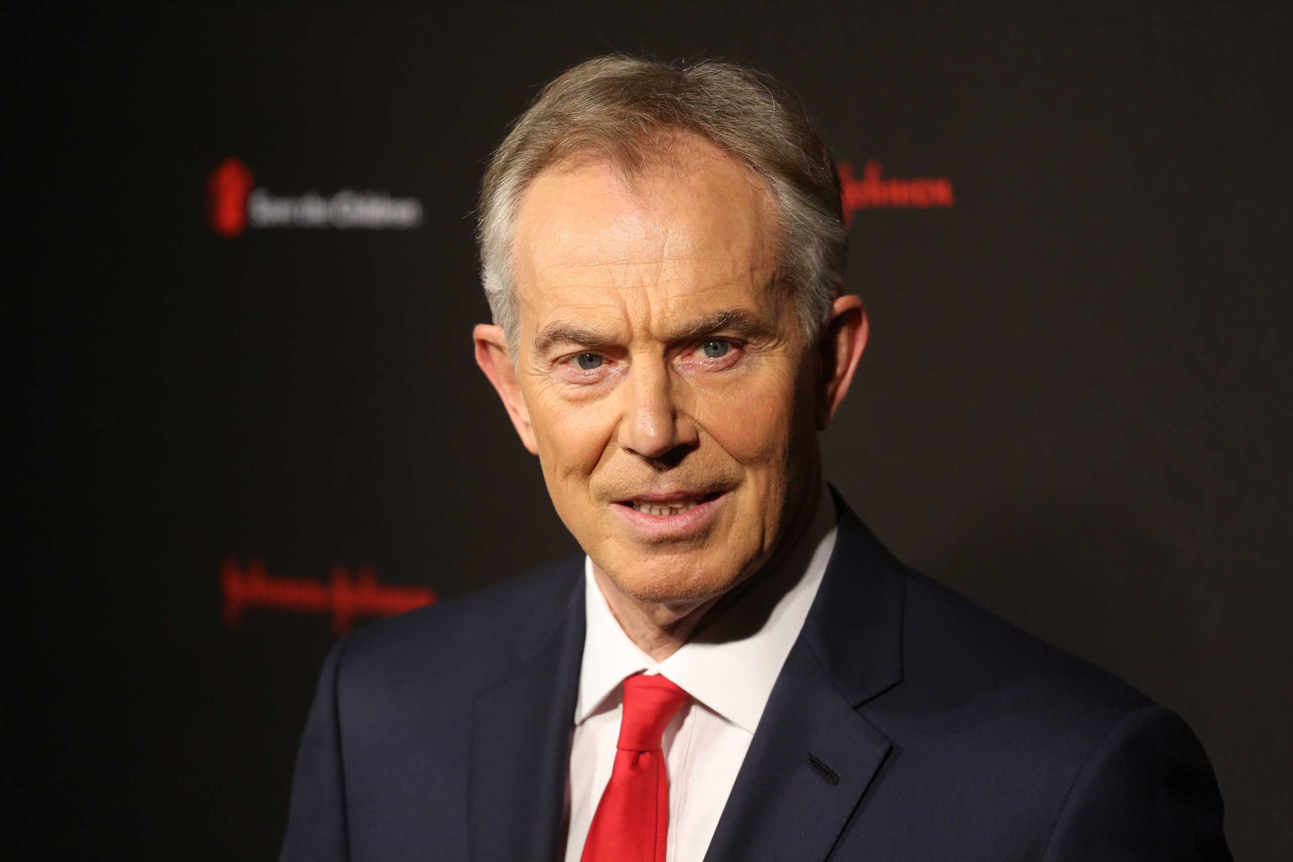 Former British prime minister Tony Blair attends the 2nd annual Save The Children Illumination Gala at the Plaza in New York, Nov. 19,  2014.