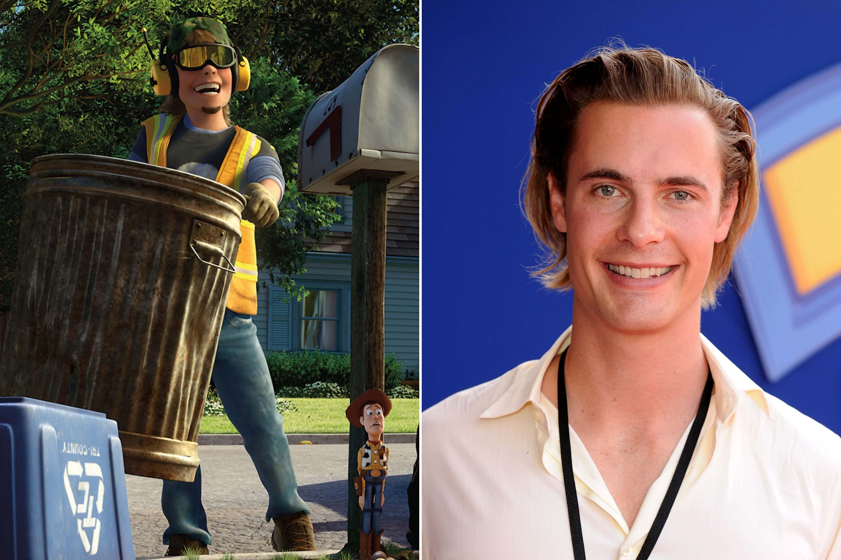 <strong>Sid - Erik von Detten (Toy Story 1, 3)</strong>