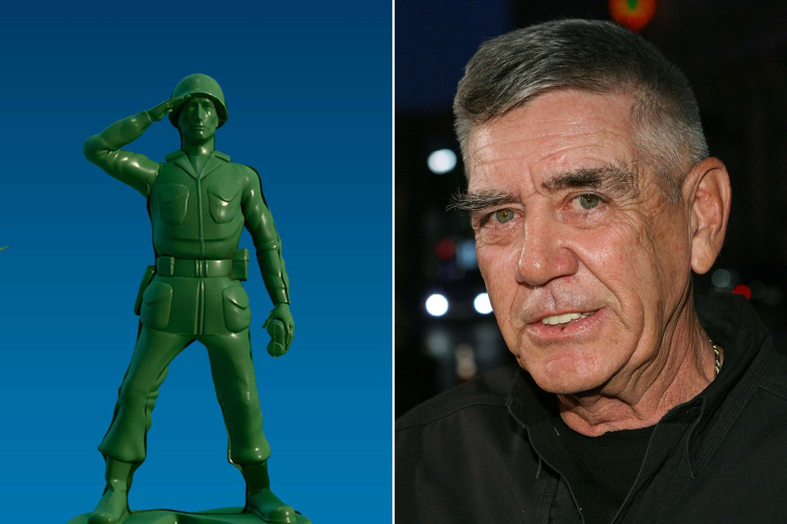 <strong>Sergeant - R. Lee Ermey  (Toy Story 1-3)</strong>