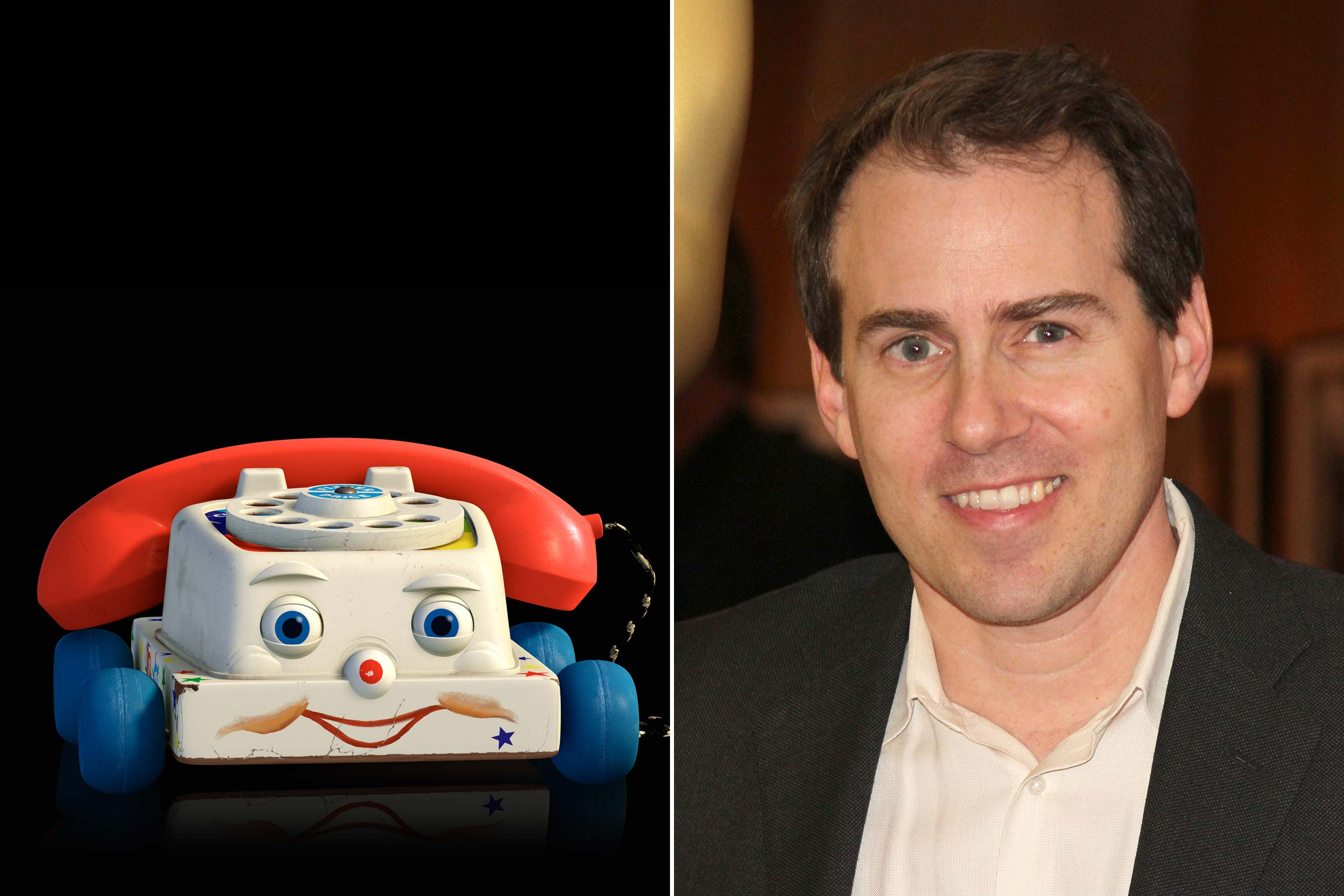 <strong>Chatter Telephone - Teddy Newton (Toy Story 3)</strong>