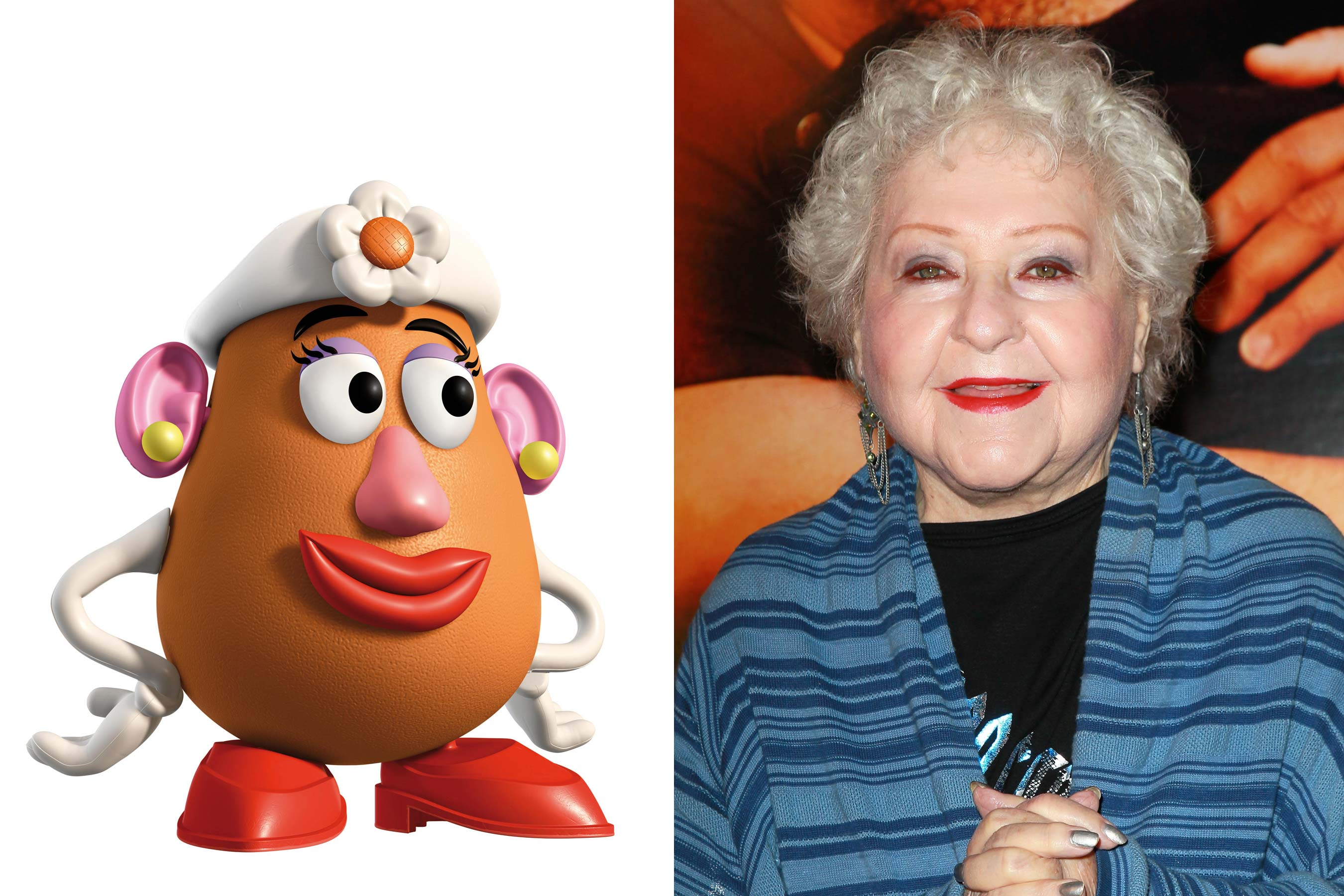 <strong>Mrs. Potato Head - Estelle Harris (Toy Story 2-3)</strong>