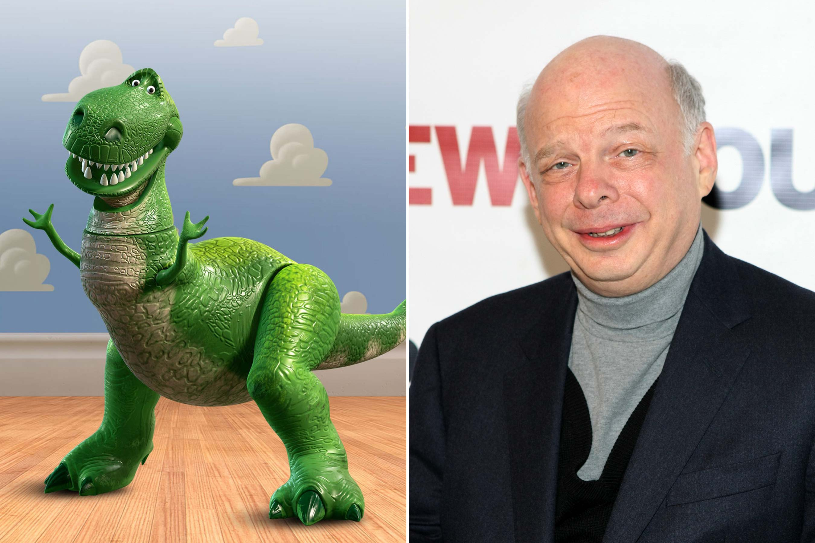 <strong>Rex - Wallace Shawn (Toy Story 1-3)</strong>