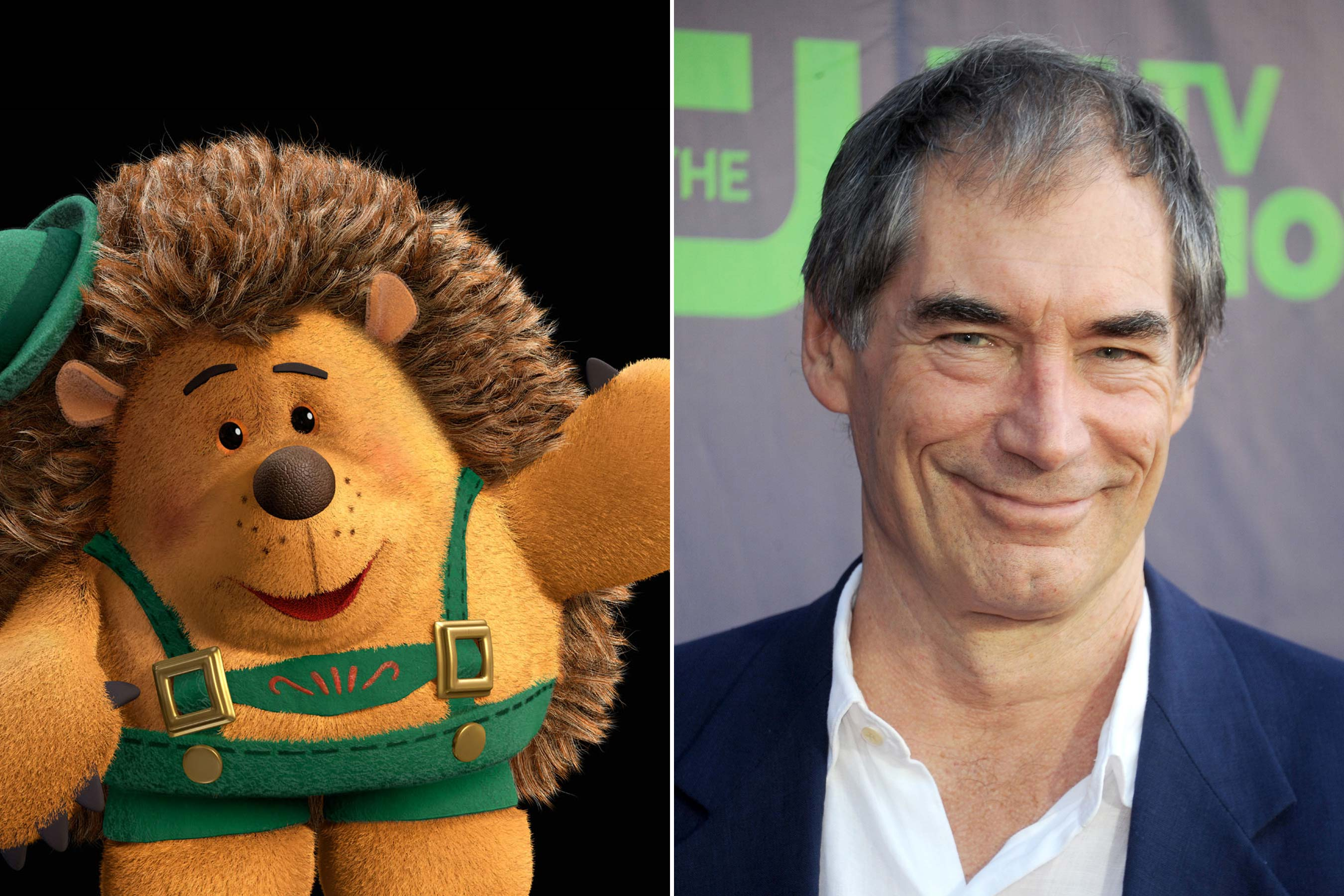 <strong>Mr. Pricklepants - Timothy Dalton (Toy Story 3)</strong>
