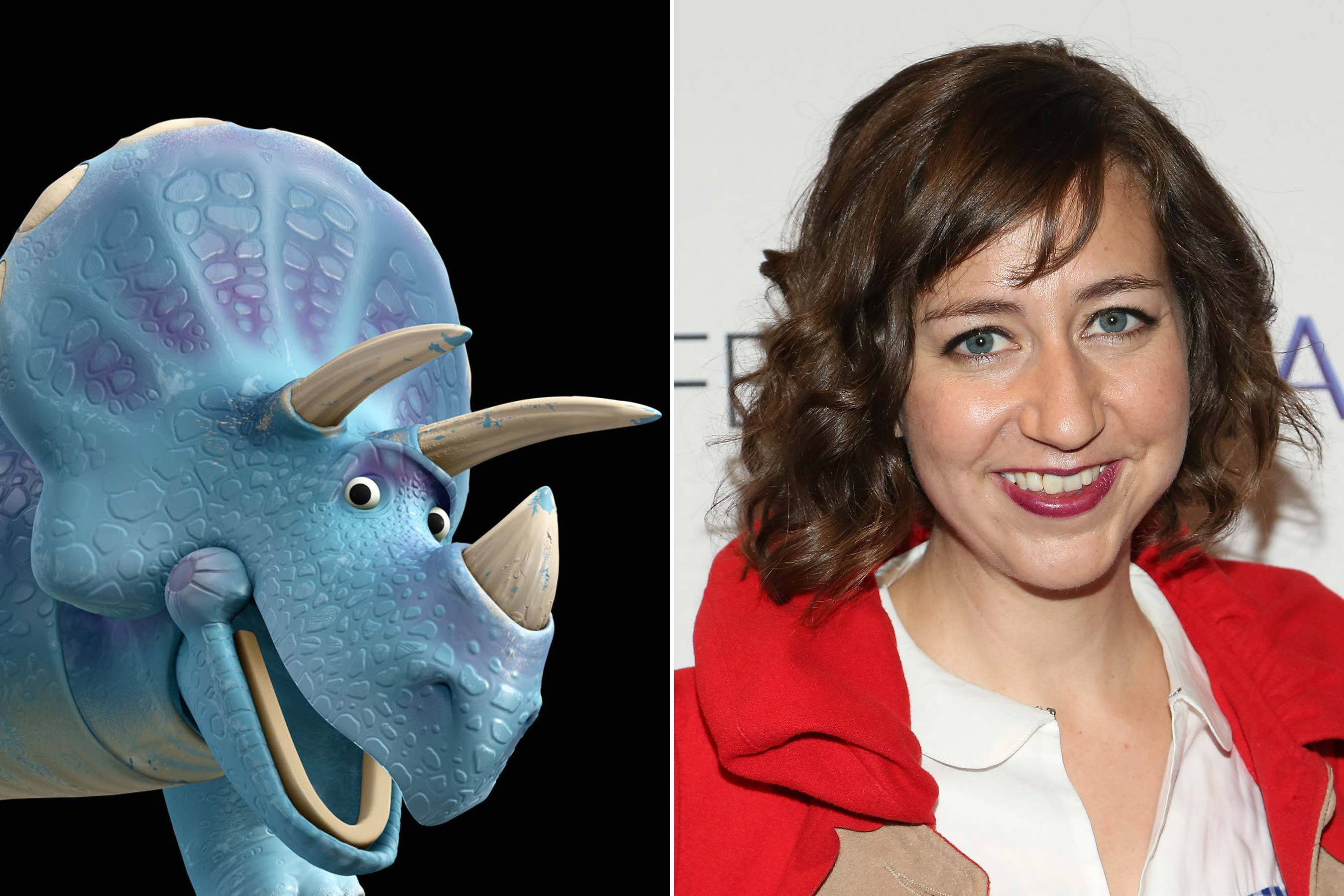 <strong>Trixie - Kristen Schaal (Toy Story 3)</strong>