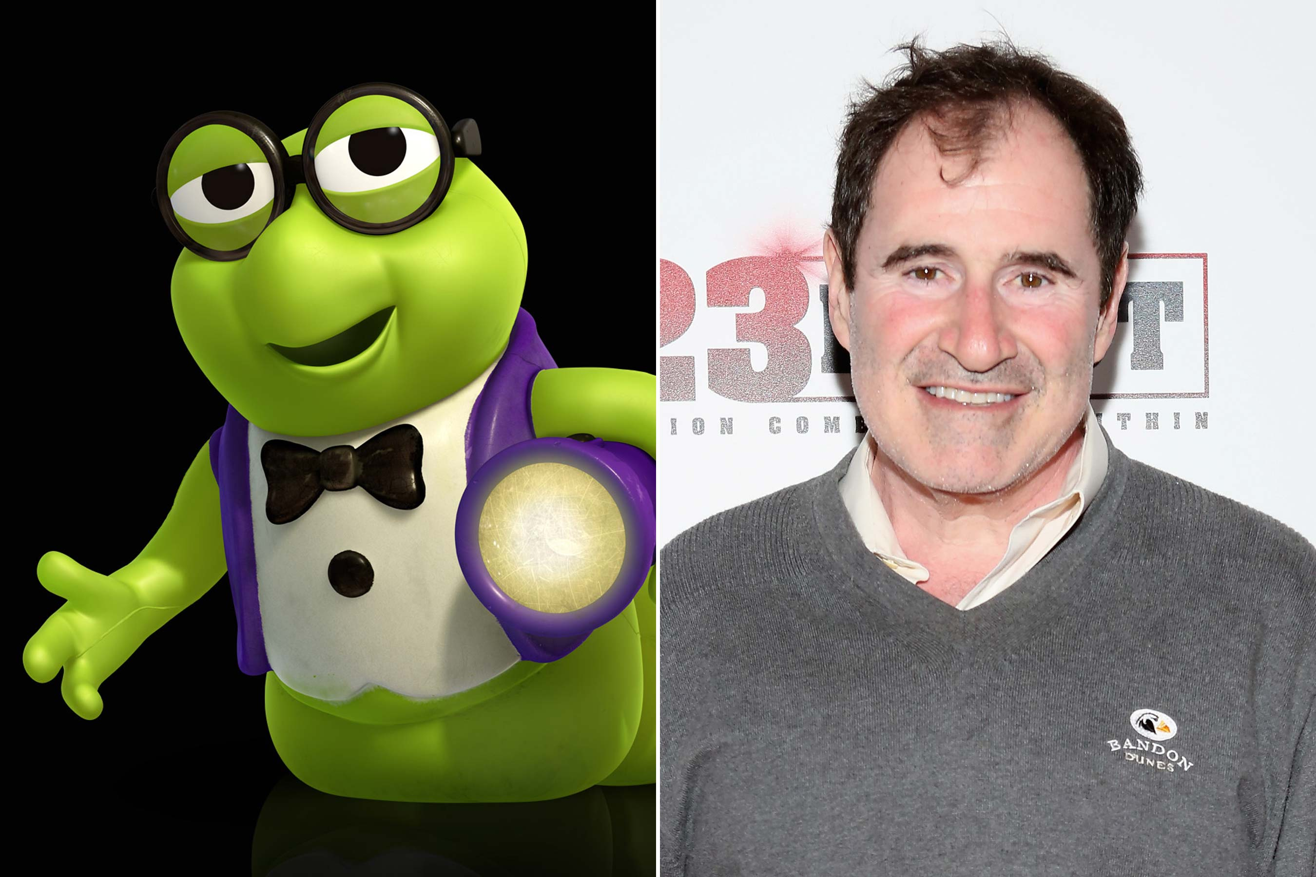 <strong>Bookworm - Richard Kind (Toy Story 3)</strong>