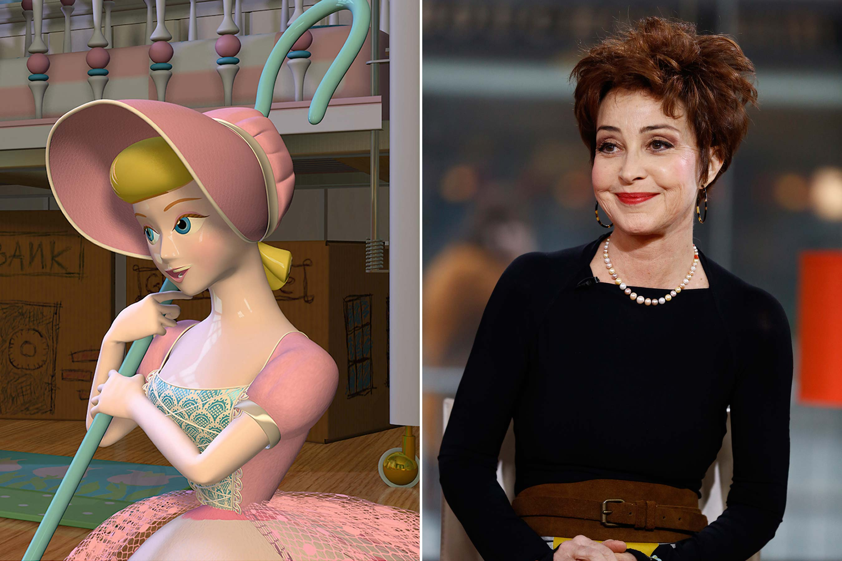 Bo Peep - Annie Potts  (Toy Story 1-2)