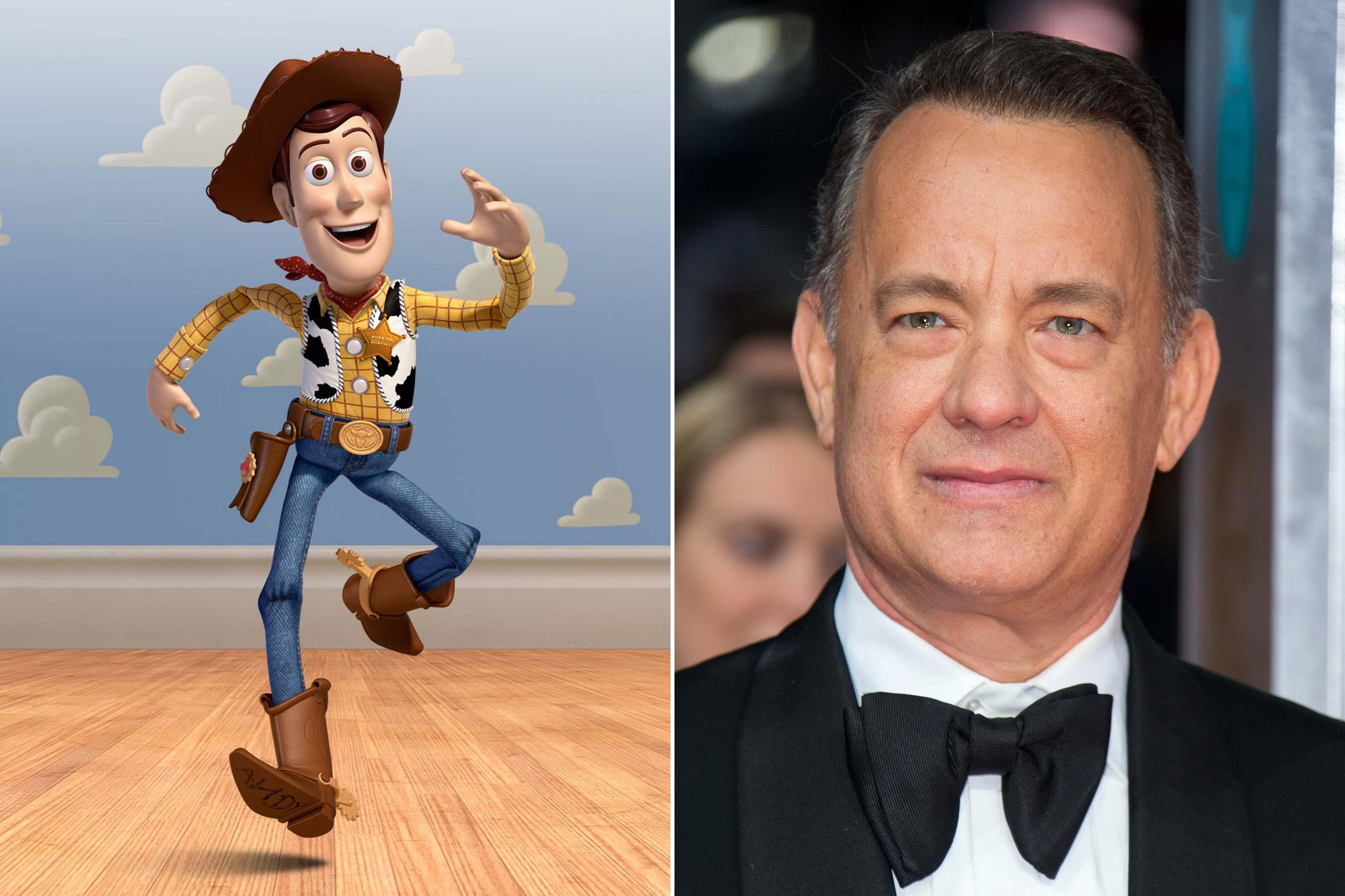 Woody - Tom Hanks (Toy Story 1-3)