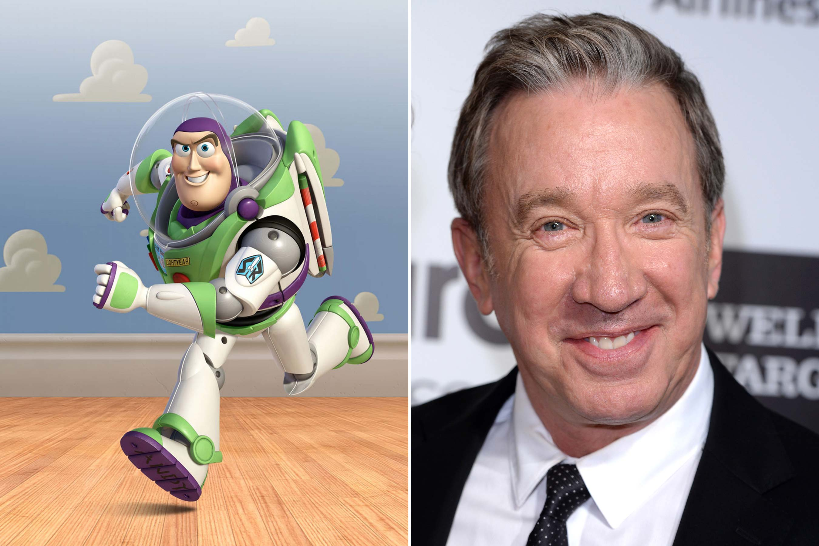 <strong>Buzz Lightyear - Tim Allen (Toy Story 1-3)</strong>