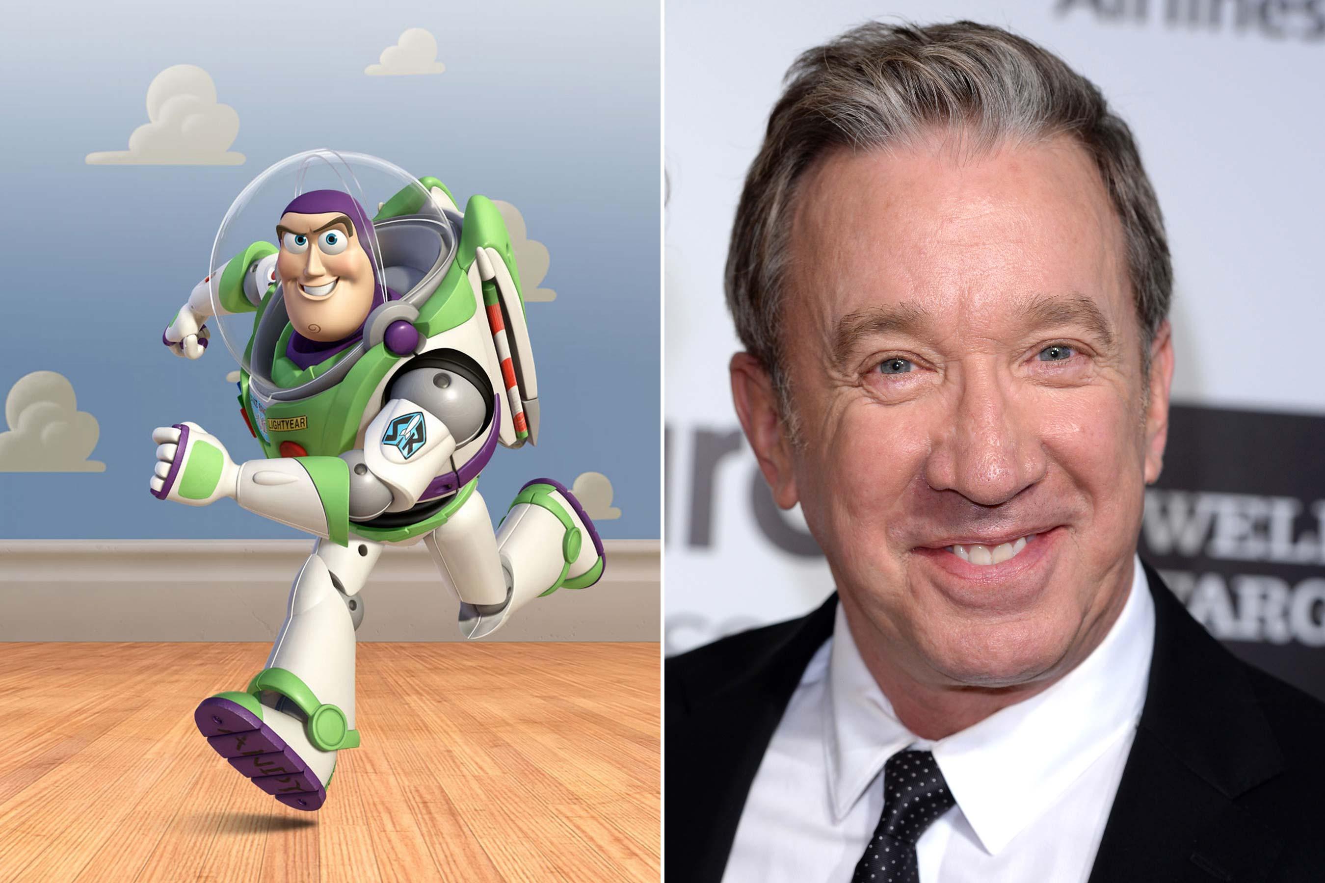 Buzz Lightyear - Tim Allen (Toy Story 1-3)