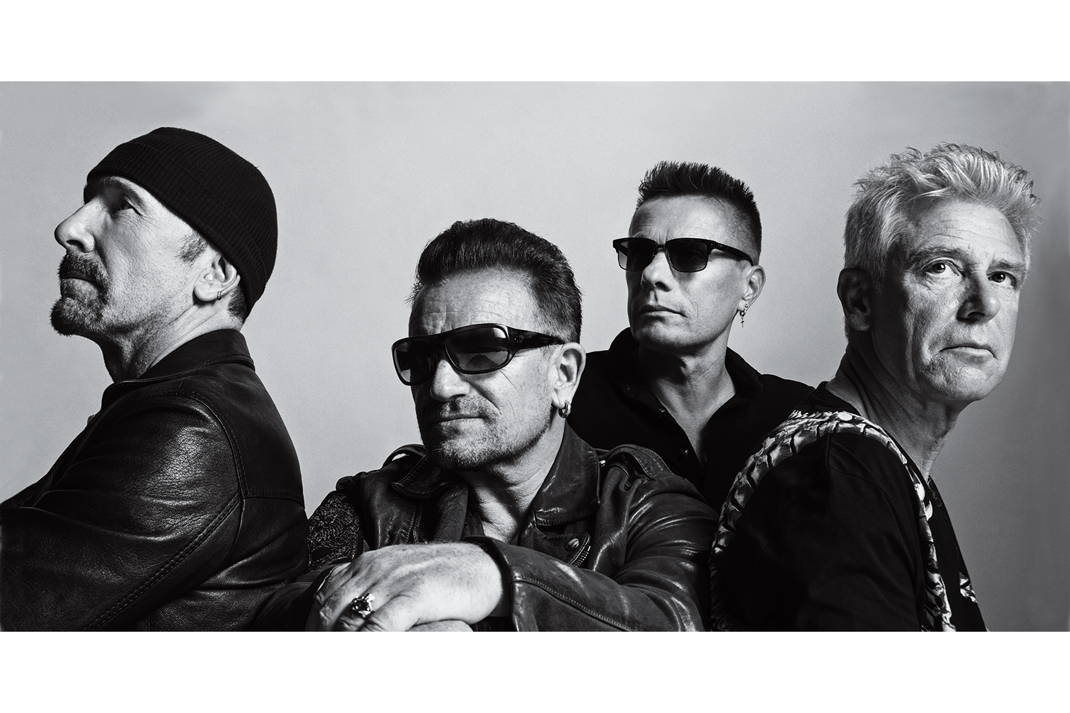 U2. From  U2's New Mission.  September 29, 2014 issue.