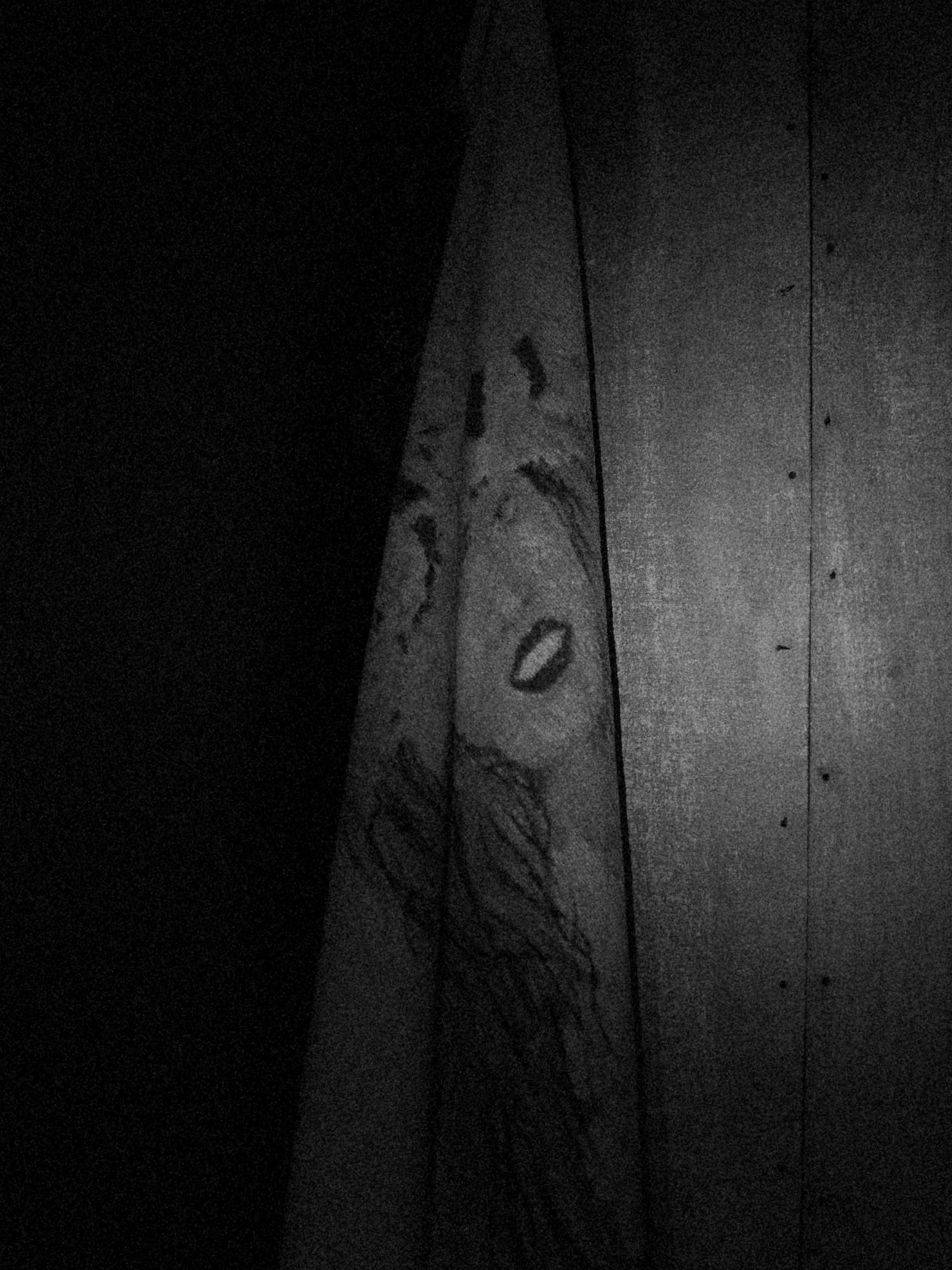 Image of a towel hangs in the Trudovski shelter. Trudovski, Donetsk Oblast, Ukraine. Oct. 18,  2014.