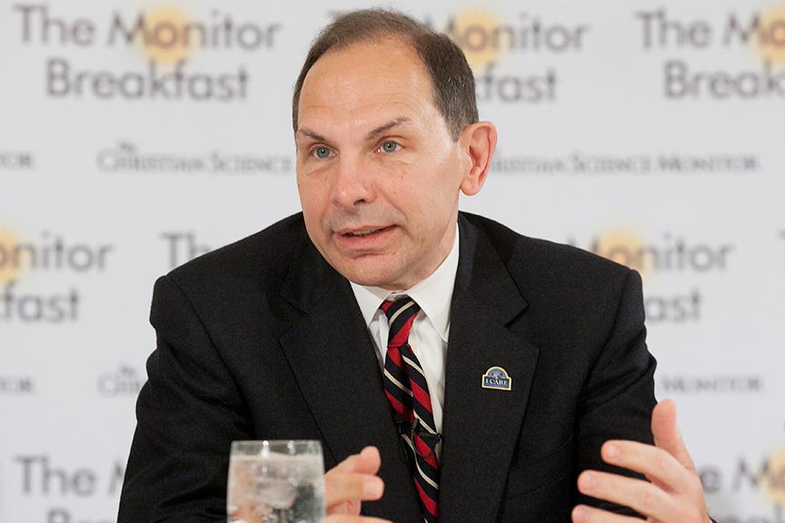 VA Secretary Bob McDonald previews the coming changes at the VA last Thursday.
