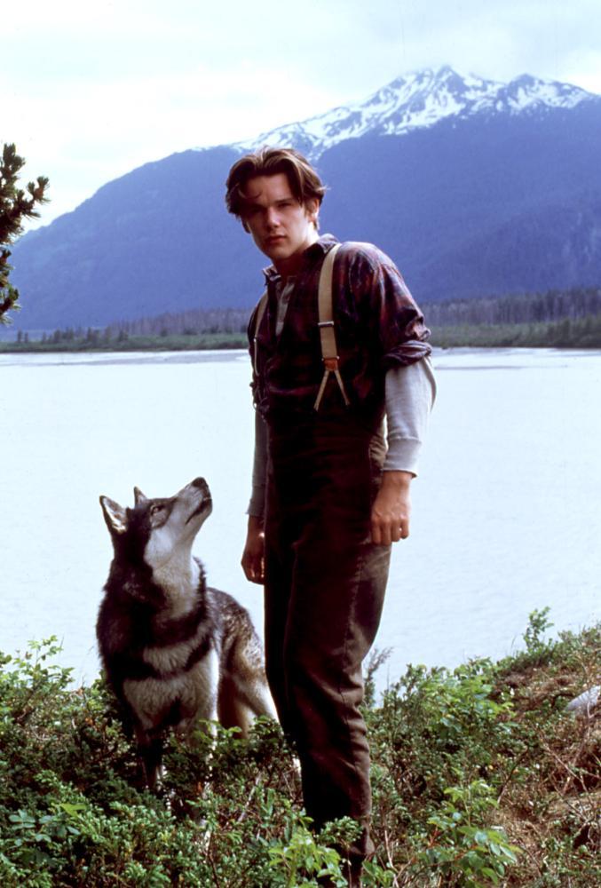 Ethan Hawke in White Fang in 1991.