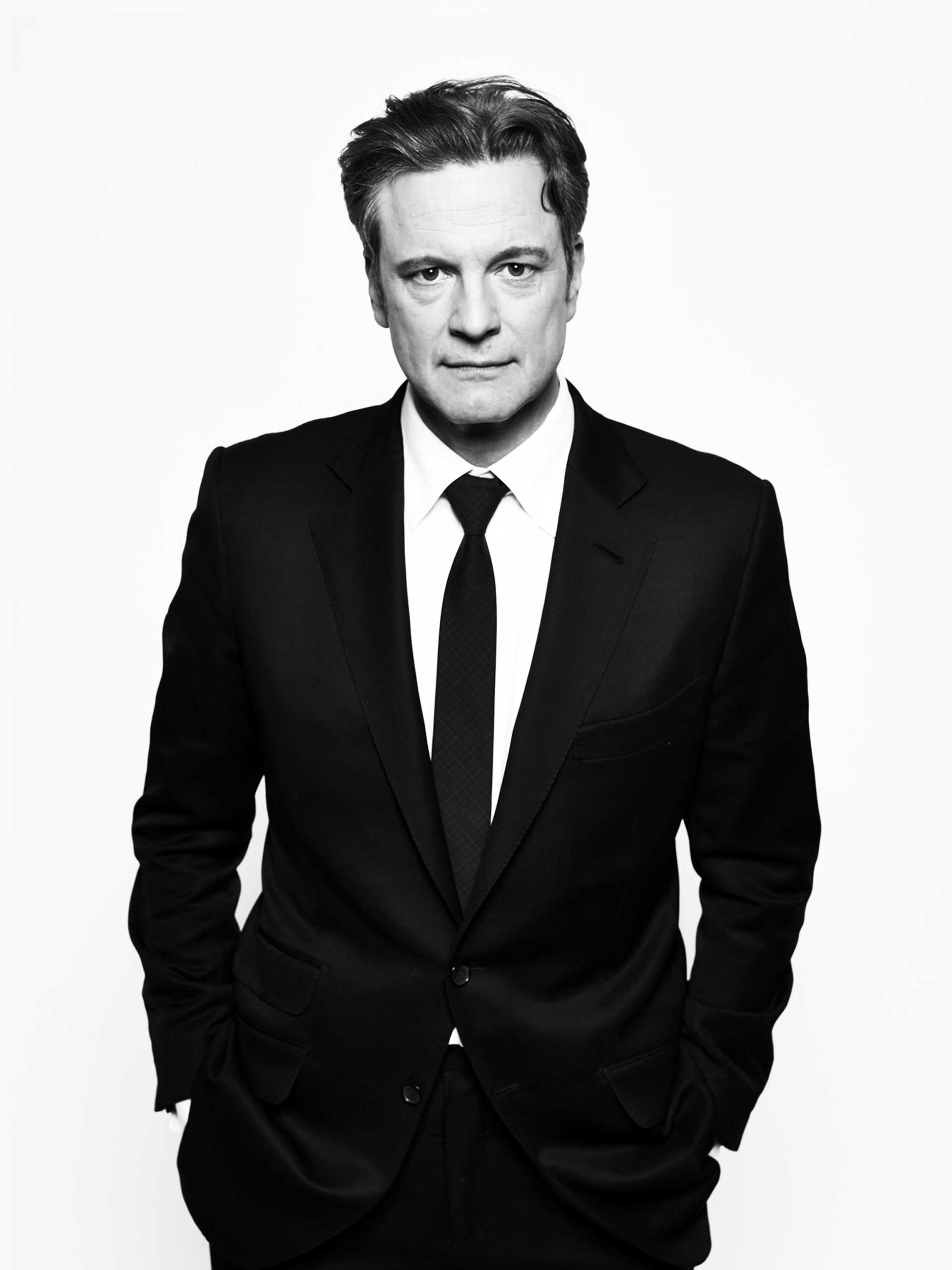 Colin Firth. From  10 Questions.  April 28, 2014 issue.