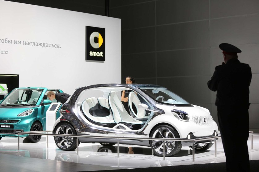 Preview Day At The Moscow International Auto Salon