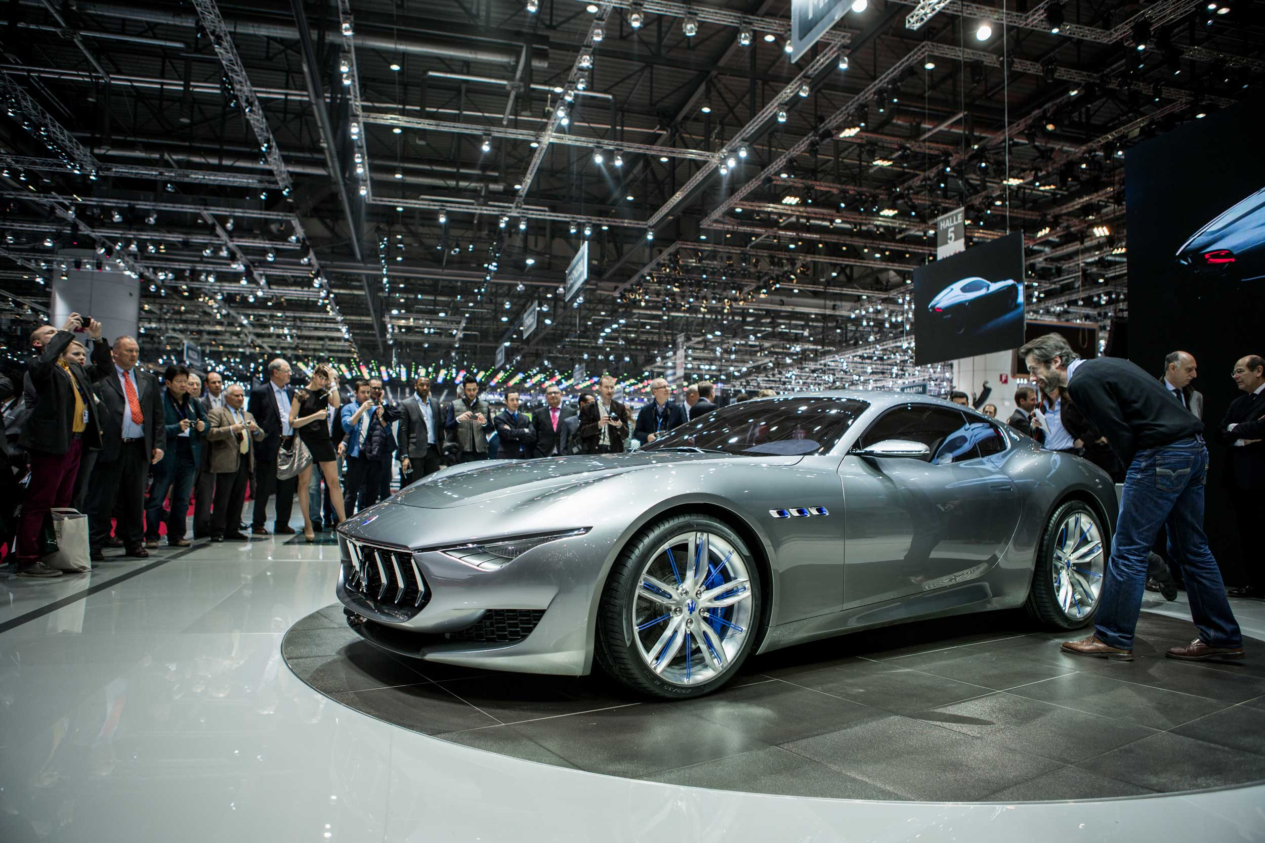 "Maserati says its Alfieri concept car represents ""the future of Maserati design."" Too bad most of us can't conceptualize being able to afford a Maserati any time soon."