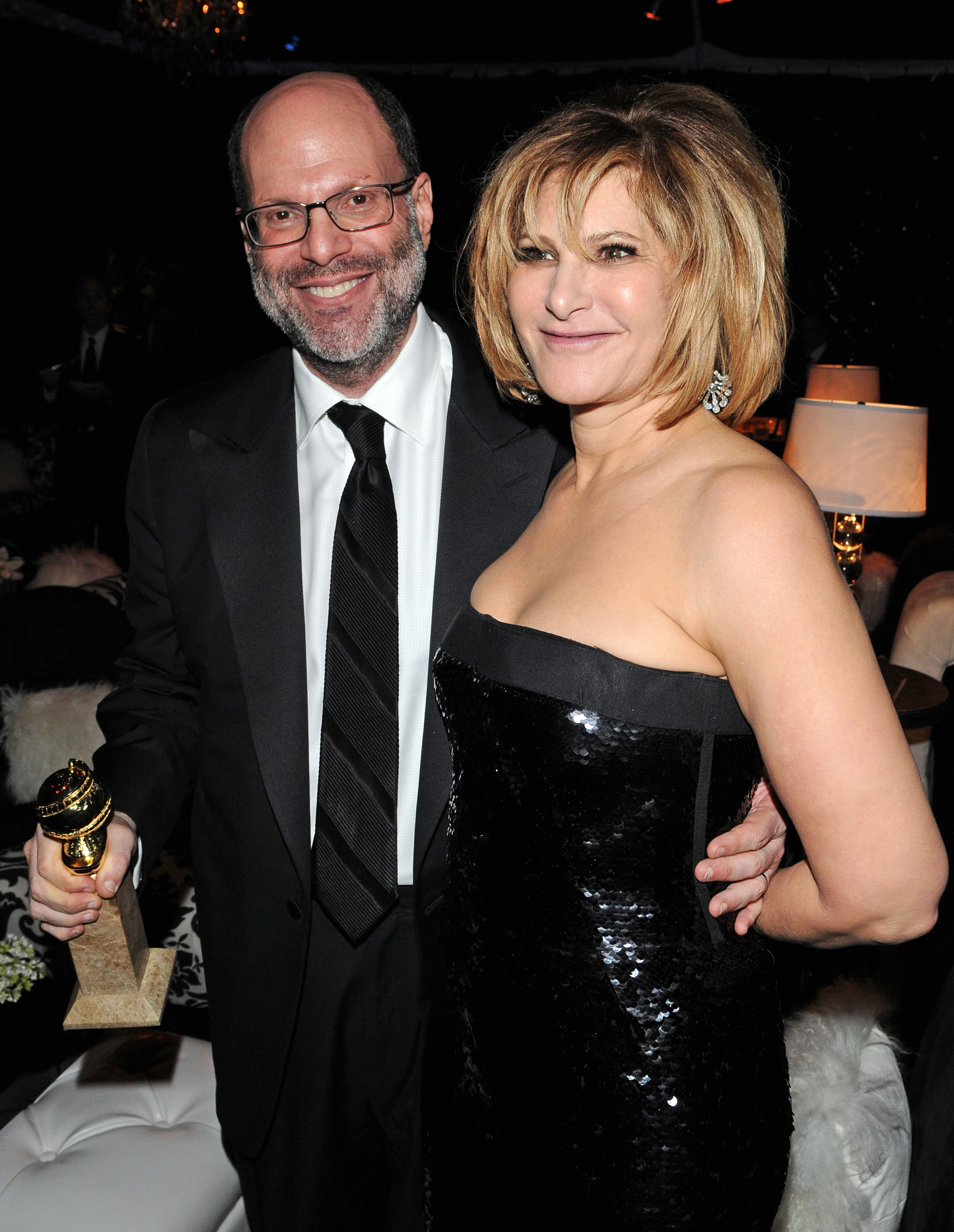 Scott Rudin and Amy Pascal attend the Sony Pictures Classic 68th Annual Golden Globe Awards Party held at The Beverly Hilton hotel on January 16, 2011 in Beverly Hills, California.