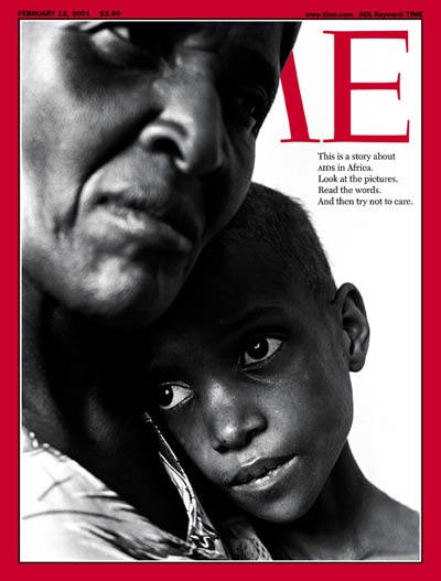 The Feb. 12, 2001, cover of TIME