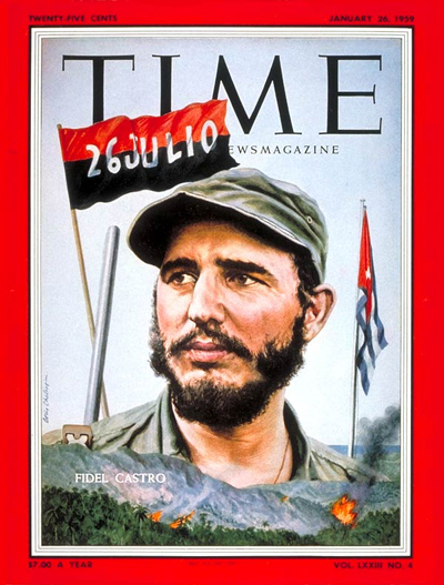 Fidel Castro on the Jan. 26, 1959, cover of TIME