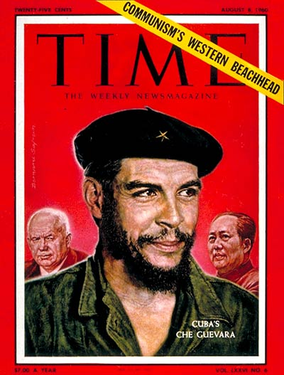 Che Guevara on the Aug. 8, 1960, cover of TIME