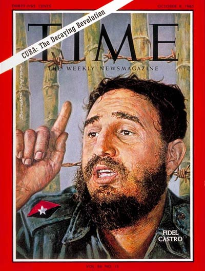 Fidel Castro on the Oct. 8, 1965, cover of TIME