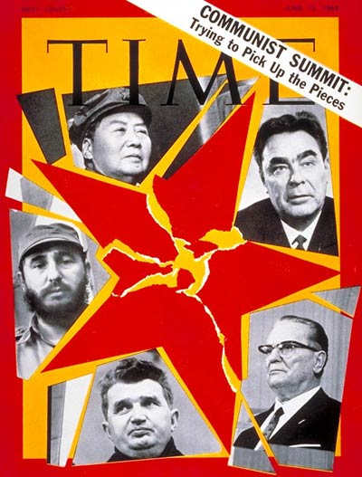 Fidel Castro (and others) on the Jun. 13, 1969, cover of TIME