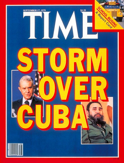 Fidel Castro and Cyrus Vance on the Sept. 17, 1979, cover of TIME