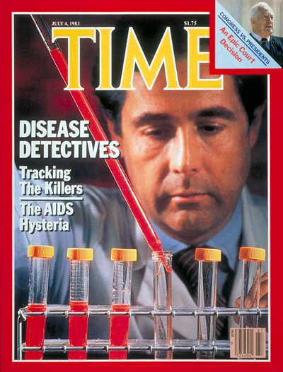 The July 4, 1983, cover of TIME