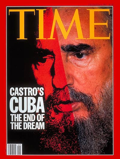 Fidel Castro on the Dec. 6, 1993, cover of TIME